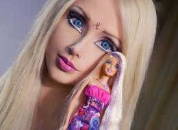 'Human Barbie' Valeria Lukyanova Without Makeup.