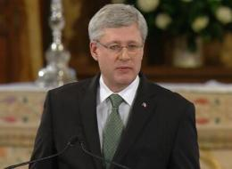 Stephen Harper delivered a eulogy speech at Jim Flaherty's funeral in Toronto on Wednesday.