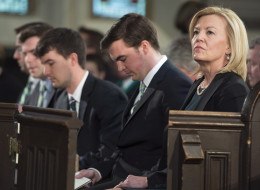 Christine Elliott, the wife and political partner of former finance minister Jim Flaherty, paid tribute to her late husband Wednesday in perhaps the perfect fashion. (CP)