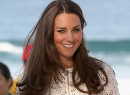 Catherine, Duchess of Cambridge walks on the sand at a lifesaving event on Manley Beach on April 18 in Sydney, Australia. The Duke and Duchess of Cambridge are on a three-week tour of Australia and New Zealand, the first official trip overseas with their son, Prince George of Cambridge.