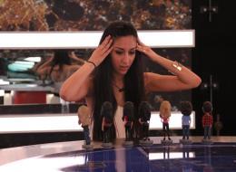 Neda debates in an earllier episode of 'Big Brother Canada.'