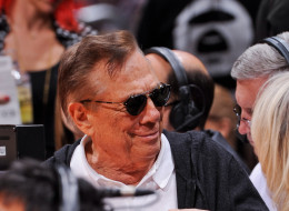 Los Angeles Clippers Owner Donald Sterling looks on as his team plays the San Antonio Spurs at Staples Center on November 7, 2012 in Los Angeles, California. NOTE TO USER: User expressly acknowledges and agrees that, by downloading and/or using this Photograph, user is consenting to the terms and conditions of the Getty Images License Agreement. Mandatory Copyright Notice: Copyright 2012 NBAE (Photo by Andrew D. Bernstein/NBAE via Getty Images)