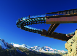 The Glacier Skywalk is set up open in Jasper National Park Thursday, but consider yourself warned — it's definitely not for the faint of heart.