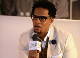 MIAMI GARDENS, FL - MARCH 15:  Host D.L. Hughley attends Day 1 of Jazz In The Gardens at Sun Life Stadium on March 15, 2014 in Miami Gardens, Florida.  (Photo by Larry Marano/Getty Images for Jazz In The Gardens)
