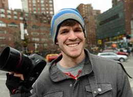 Brandon Stanton on the streets of New York.