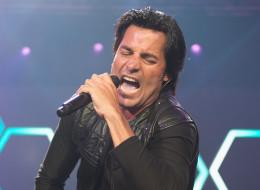 Chayanne en la Allstate Arena el 19 de agosto de 2012 en Rosemont, Estados Unidos.
