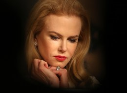 Nicole Kidman attends a press conference for the film 'Grace of Monaco' at the 67th edition of the Cannes Film Festival.