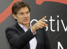 FILE - This June 13, 2012 file photo shows television personality Dr. Mehmet Oz during a photocall at the 2012 Monte Carlo Television Festival in Monaco. On Tuesday, Aug. 20, 2013, Oz rushed to an accident scene after a yellow cab jumped the curb and struck a pedestrian outside New York's  Rockefeller Center. Oz says in a statement that emergency medical crews were already treating the injured woman who had a bad leg wound. He says a good Samaritan made a tourniquet out of a belt for the woman.