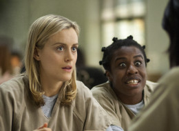 Piper and Crazy Eyes on Season 2 of 'Orange Is The New Black.'