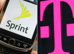 In this Monday, July 29, 2013, photo, a Sprint logo is displayed on a smart phone in Montpelier, Vt. Sprint Reports quarterly earnings on Tuesday, July 30, 2013. (AP Photo/ Toby Talbot)