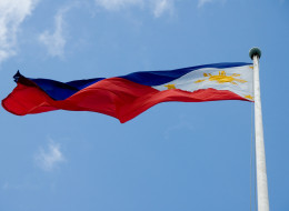 Filipino flag.