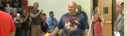 Image for High School Janitor Will Visit Granddaughter Overseas For First Time, Thanks To Sweet Surprise
