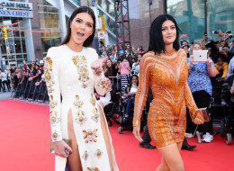 TORONTO, ON - JUNE 15:  Kendall and Kylie Jenner arrive at the 2014 MuchMusic Video Awards at MuchMusic HQ on June 15, 2014 in Toronto, Canada.  (Photo by George Pimentel/WireImage)