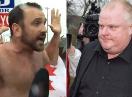 Joe Killoran confronted Rob Ford, drawing attention from all corners of the Internet