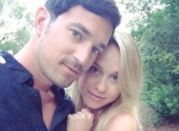 Matt Bendik, here with girlfriend Becca Tobin, was reportedly found dead in his hotel room on July 10.