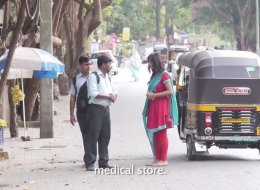 Watch what happens when an Indian girl asks strangers for a condom