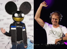 Deadmau5 took a shot at trance DJ Armin van Buuren on Friday, but the Dutchman fought back. And won.
