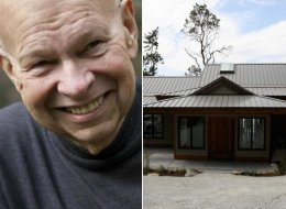 Robert Conconi and his wife have donated this house on Pender Island to the B.C. Cancer Foundation.