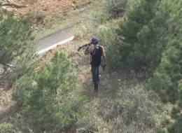 A video screen capture of the suspect. (Photo: Thedenverchannel.com)