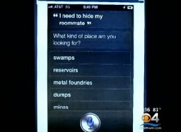 A screenshot shown in a Florida court this week shows what, prosecutors say, is a murder suspect's suspicious question for Siri.