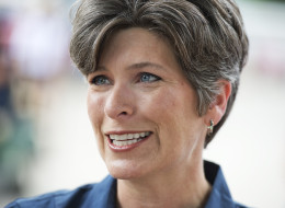 UNITED STATES - AUGUST 08: Joni Ernst, Iowa Republican Senate candidate, campaigns at the 2014 Iowa State Fair in Des Moines, Iowa, August 8, 2014. (Photo By Tom Williams/CQ Roll Call)