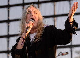 Patti Smith performs on stage at Riot Fest Chicago 2014 at Humboldt Park on Sept. 14, 2014, in Chicago, United States.
