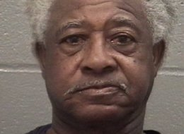 In this Feb. 18, 2013 photo released by the Columbia County (Ga.) Sheriff`s Office, Earnest Satterwhite poses for a booking bug. Satterwhite spent some of the last moments of his life fleeing from officers that wanted to pull the 68-year-old man over on suspicion of drunken driving. Seconds after he pulled into a driveway off a dirt road in Edgefield County, an officer opened fired, leaving him one of 75 people in South Carolina killed by an officer since 2010. (AP Photo/Columbia County (Ga.) Sh