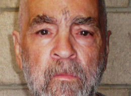 In this handout photo from the California Department of Corrections and Rehabilitation, Charles Manson, 74, poses for a photo on March 18, 2009 at Corcoran State Prison, California. Manson is serving a life sentence for conspiring to murder seven people during the 'Manson family' killings in 1969. The picture was taken as a regular update of the prison's files.  (Photo by California Department of Corrections and Rehabilitation via Getty Images)