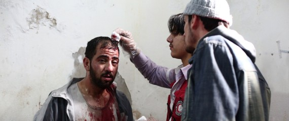 SYRIA INJURED