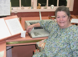 Best-selling author Colleen McCullough is seen on Norfolk Island. (File, AP Photo/Harper Collins, Louise Donald, HO)