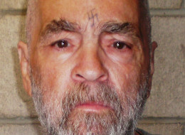 A photo of Charles Manson taken by the California Department of Corrections.
