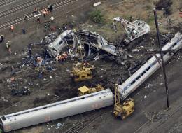 Amtrak train speeding before crash