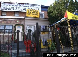 Occupy Our Homes plans to move a homeless family into this vacant house in Brooklyn.
