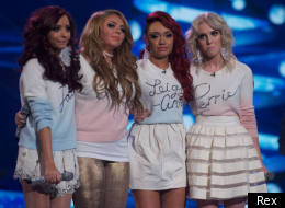 Little Mix on the X Factor final