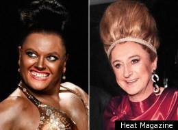Life's a drag for Alan Carr and Louis Walsh