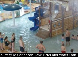 Take the kids to the indoor water park at Caribbean Cove Hotel in Indianapolis.