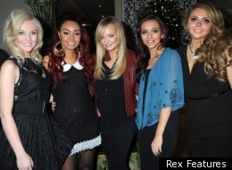 Little Mix with Spice Girl Emma Bunton