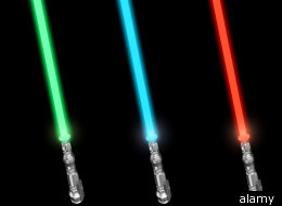 Police say that David Canterbury attacked Toys 'R' Us customers with a toy light saber.