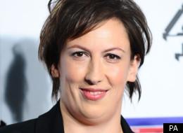 Miranda Hart at the British Comedy Awards