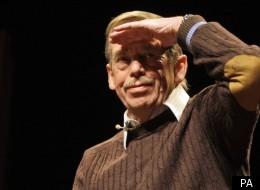 Vaclav Havel died on Sunday morning