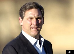FILE - In this March 13, 2011, file photo, college football analyst Craig James is seen in Lubbock, Texas. James, who starred as a tailback at Southern Methodist University and with the New England Patriots in the 1980s, announced Monday, Dec. 19, 2011 he was running for the U.S. Senate as a Republican from Texas, a GOP fundraiser said. James would be running for the 2012 Senate seat being vacated by retiring Republican Kay Bailey Hutchison. (AP Photo/Geoffrey McAllister, File)