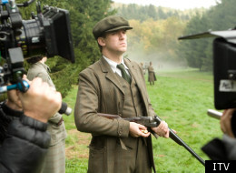 Dan Stevens in the Downton Abbey Christmas Special