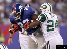 The Jets take on the Giants on Sunday in the Battle of New York.