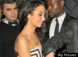 Tulisa has a few too many sherries at her PA's birthday celebrations.