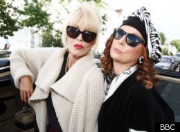 Patsy (Joanna Lumley), Edina (Jennifer Saunders)
