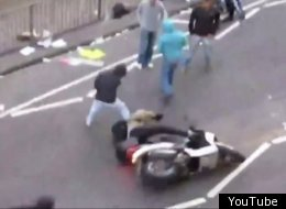 Footage of Ryan Kichenside pulling Jason Barton off his motorbike shocked the nation