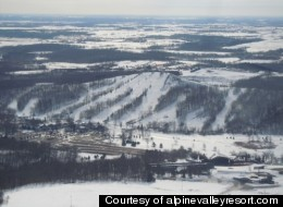 Take in the breathtaking views at Alpine Valley Resort in Wisconsin.