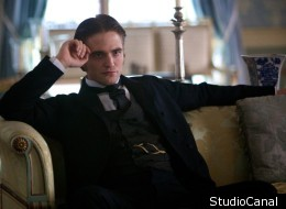 Robert Pattinson in 'Bel Ami', co-starring with Uma Thuman, Kristin Scott Thomas and Christina Ricci