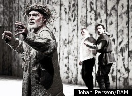 Sir Derek Jacobi as King Lear in the Brooklyn Academy of Music's spring 2011 production.