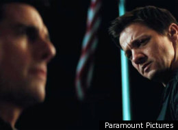 Tom Cruise and Jeremy Renner in 'Mission: Impossible - Ghost Protocol'